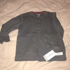 Toddler boy thermal shirt